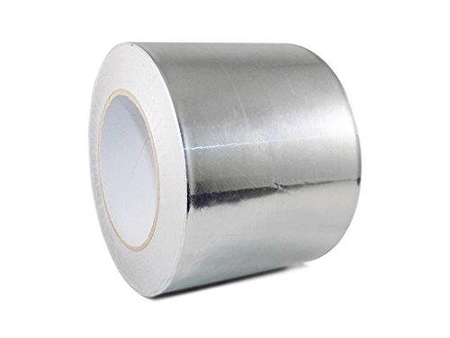 T.R.U. AF-20R Heat Shield Resistant Aluminum Foil Tape: 4 in. wide x 50 yds. (2Mil)