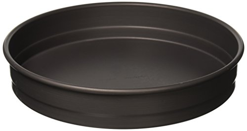 Pan Coat Hard Deep Dish - LloydPans HSSR-12X2.25-PSTK Deep Dish Pizza Pan, 12 Inch by 2.25 Inch, Black, Made In the USA, Case of 6