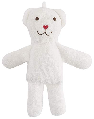 Under the Nile Organic Cotton Baby Toy Scrappy Bear Stuffed Animal 7