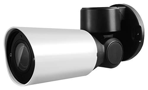 PTZ Pan Tilt Zoom Bullet Security Camera : Motorized Lens & Housing : 1080P 2MP@30FPS, 2.8-12mm Auto-Focus Lens, IR LEDs, IR-Cut, WDR, Motion Detection, DNR 12mm Lens Bullet Housing
