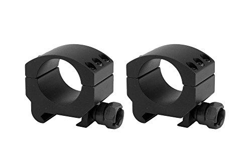 Monstrum Tactical Lockdown Series High Performance Scope Rings | Picatinny | 1 Inch Diameter | Low Profile