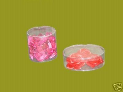48 PCS 2 x 1-1//2 Plastic Tube Cylinder Boxes Party Candle
