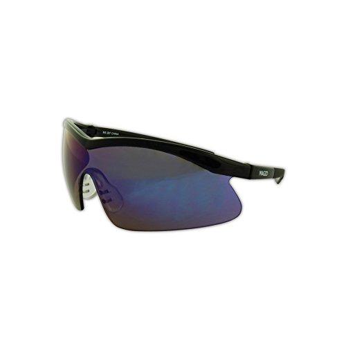 Magid Glove & Safety Y70BKBM-AMZN Gemstone Zircon Y70 Protective Eyewear, Polycarbonate, Standard, - Polycarbonate Mirrored