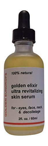 GOLDEN ELIXIR ULTRA REVITALIZING SKIN SERUM, FOR EYES, FACE,