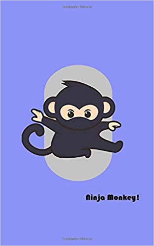 Ninja Monkey!: Write and Draw Notebook for Kids: Amazon.es ...