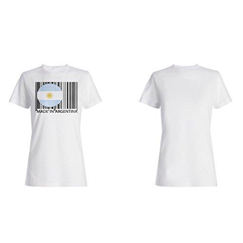 Gemacht in argentinien reise welt lustige neuheit Damen T-shirt uu42f