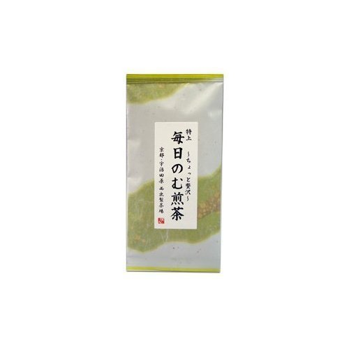 Tea tea every day of non-tea [Four 4] 100g input Uji tea, everyday use for depth steamed is a little blend