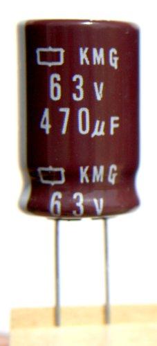on KMG 470uF 63v 105c Radial Electrolytic Capacitor (63v Radial Electrolytic Capacitor)