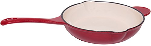10 enameled cast iron skillet - 7