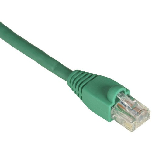 Green Crossover GigaBase 350 CAT5e Patch Cable 3.0-m UTP with Snagless Boots 10-ft.