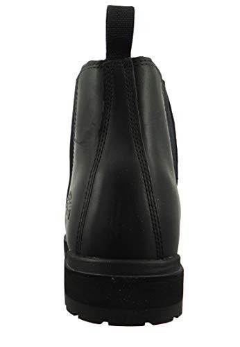 Walking Chelsea Ankle Womens Timberland Grey London Leather Winter Boot Dark Square wqXSqa