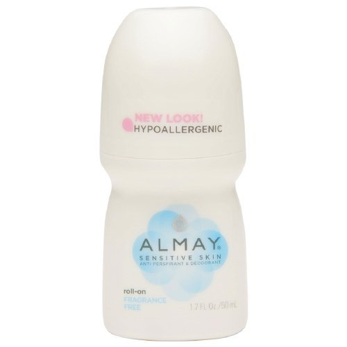 - Almay Roll-On Antiperspirant & Deodorant, Fragrance Free 1.7 oz Pack of 3