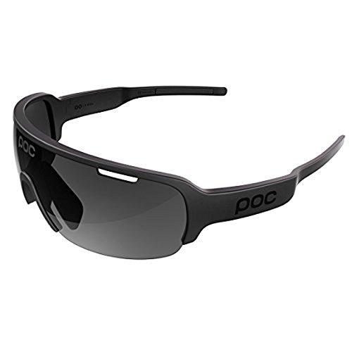 POC DO Half Blade Sunglasses Uranium Black / Black & HDO Knit Cap - Sunglasses Blade Poc Do