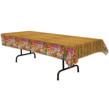 Beistle-57068-Luau-Tablecover-54-by-108-Inch