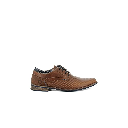Bullboxer 571-K2-3793C Zapatos de cordones Hombre taupe, EU 45
