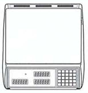 Cas S-2000 Jr precio Computing escala con pantalla VFD 60 libras: Amazon.es: Amazon.es