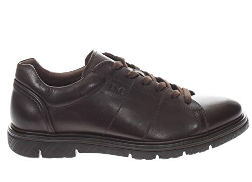 Marron 44 Nero De Chaussures Giardini Eu Pour Marron À Lacets Ville Homme UzUvwrq