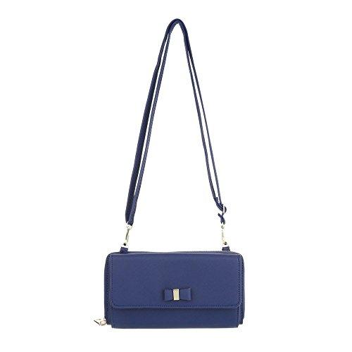 Ital-Design, Poschette giorno donna blu Blau