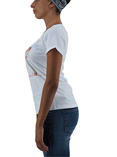 2647 Happiness shirt Splendida Donna Bianco T Da aTwY8