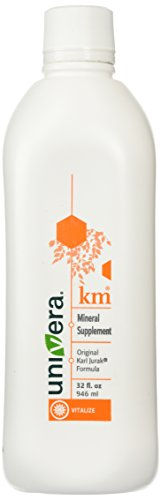 - Km Matol Univera - Quantity of 1 - 32 oz large bottle - Original Potassium Mineral Supplement Botanical Drink