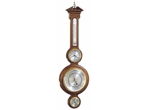 1 - Howard Miller Catalina Thermometer, Clock, Barometer, Hygrometer by Howard Miller