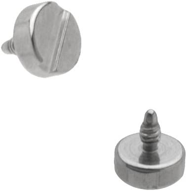 14GA ~3-4-5mm Kugel Titan IP 316L Chirurgenstahl Dermal Anchor Top Teil 1pc