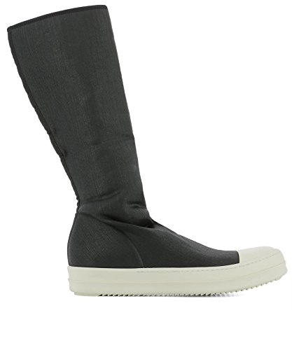 DRKSHDW BY RICK OWENS Men's Du18s3808sbwp91 Black Fabric Ankle Boots