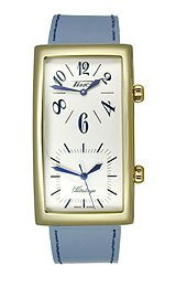 Tissot Men's T56.5.623.39 Heritage White Dial Leather Strap Watch