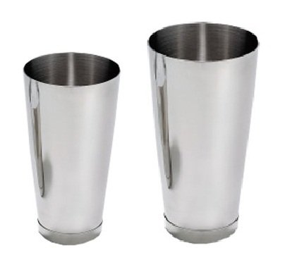 ChefLand 2 Piece Cocktail Shaker, 15-Ounce and 30-Ounce, Stainless Steel
