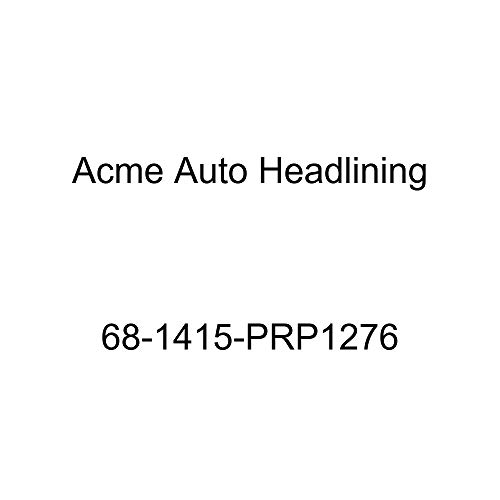 Acme Auto Headlining 68-1415-PRP1276 Dark Green Replacement Headliner (Chevrolet Impala 4 Door Hardtop 5 Bow)