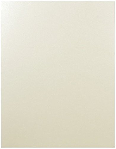 Shimmer Champagne 8-1/2-x-14 Cardstock Paper 150-pk - 290 GSM (107lb Cover) PaperPapers LEGAL size Card Stock Paper - Business, Card Making, Designers, Professional and DIY Projects by Paper Papers (Image #2)
