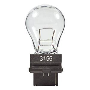Eiko - 3156 Mini Indicator Lamp - 12.8 Volt - 2.1 Amps - S8 Bulb - Plastic Wedge Single Filament Base - 10 Pack