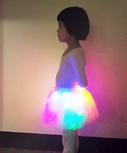 3dcd34a40d Girls Women Tutu Skirt, Christmas Party Skirt Layered Tulle Ballet Skirt  Net Yarn