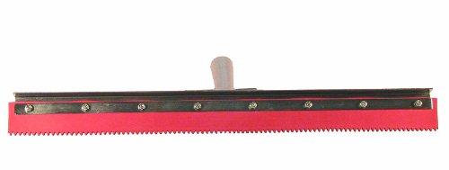 18 Length Red Haviland 02118SE EPDM Rubber Non-Marking Standard Duty Serrated Applicator Squeegee 3//16 Serration