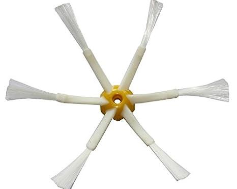 ASP-ROBOT® Recambios Roomba Serie 700 760 765 770 772 775 776 776p 780 782 785 786. Filtro hepa, Cepillo Lateral, Rodillo Central y Accesorios.
