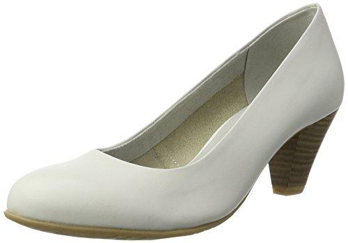 Tamaris 22400, Zapatos de Tacón para Mujer Blanco (WHITE 100)