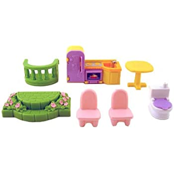 Amazon Com Fisher Price My First Dollhouse Replacement Parts Toys