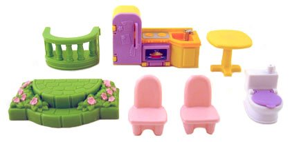 Fisher Price My First Dollhouse Replacement Parts