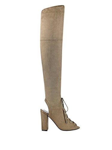 Calene Women's GUESS Dark Green up Boots Lace Fabric pgWOWRnqU