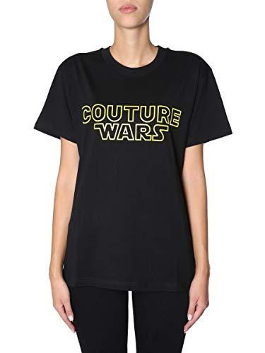 T shirt J070154403555 Moschino Mujer Algodon Negro 7vf7IAWq
