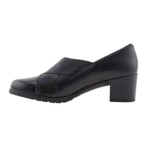 Pitillos Piel Zapatos Piel Zapatos Zapatos Negro Piel Pitillos Negro cWRzppOv