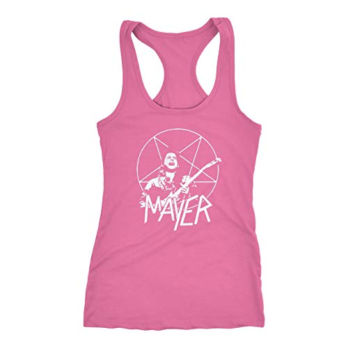 Mayer Slayer Inspired - Parody lot T-Shirt Dead and Company | Trio Tour 2018 | Festival Tee | Shakedown | Summer Tour (Hot Pink, S)