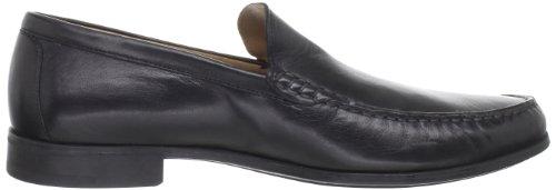 Johnston & Murphy Heren Cresswell Venetiaanse Loafer Zwart Schapenvacht