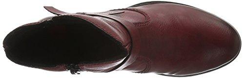 Rosso Rieker 75553 wine Stivali Donna 86xCgqB