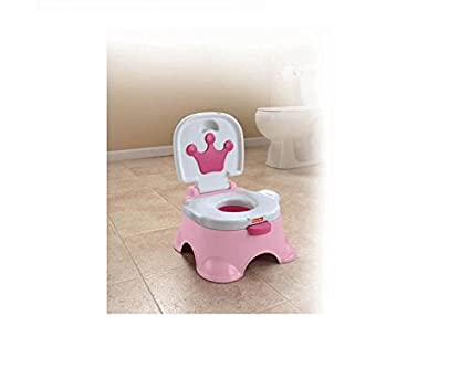 Fisher-Price Royal Stepstool Potty, Pink Princess N3428