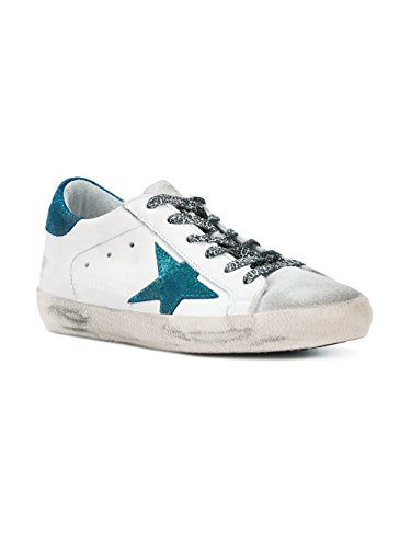 Golden Goose Women's G32WS590E53 White Leather Sneakers 1YL6B8kWi