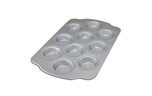 Fat Daddio's Mini Muffin/Teacake Pan, 10 Cavities (Toaster Oven Muffin Mini)