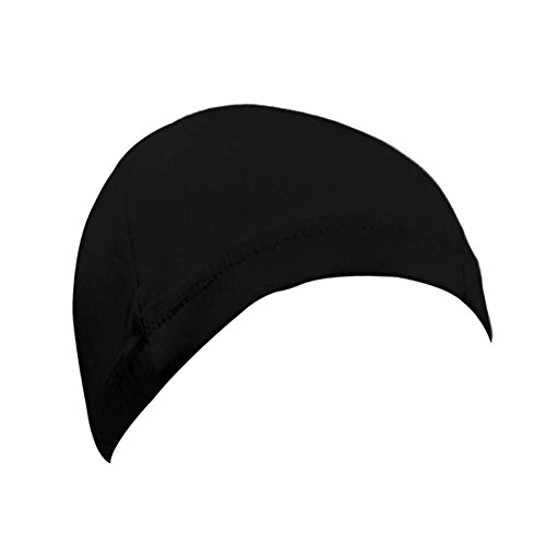 EYX Formula Neutral Soft Milk Silk Hip Hop Three Watermelon Wig Cap ,Stretch Cover Wig Spandex Dome Cap for Protecting Hair -Daily Life ot Cosplay