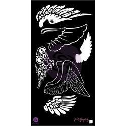 Bulk Buy: Prima Marketing (3-Pack) Jamie Doughtery Bloom Stencil 6\'X12\' Wings BLSTN612-80443