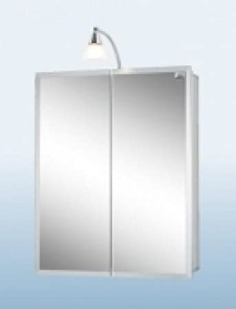 Jokey Spiegelschrank Aluhit Aluminium Amazon De Elektronik